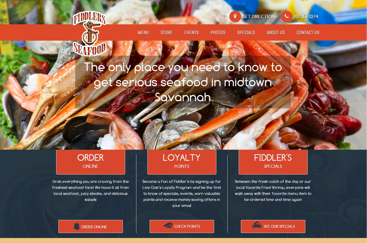 Fiddlers' Seafood