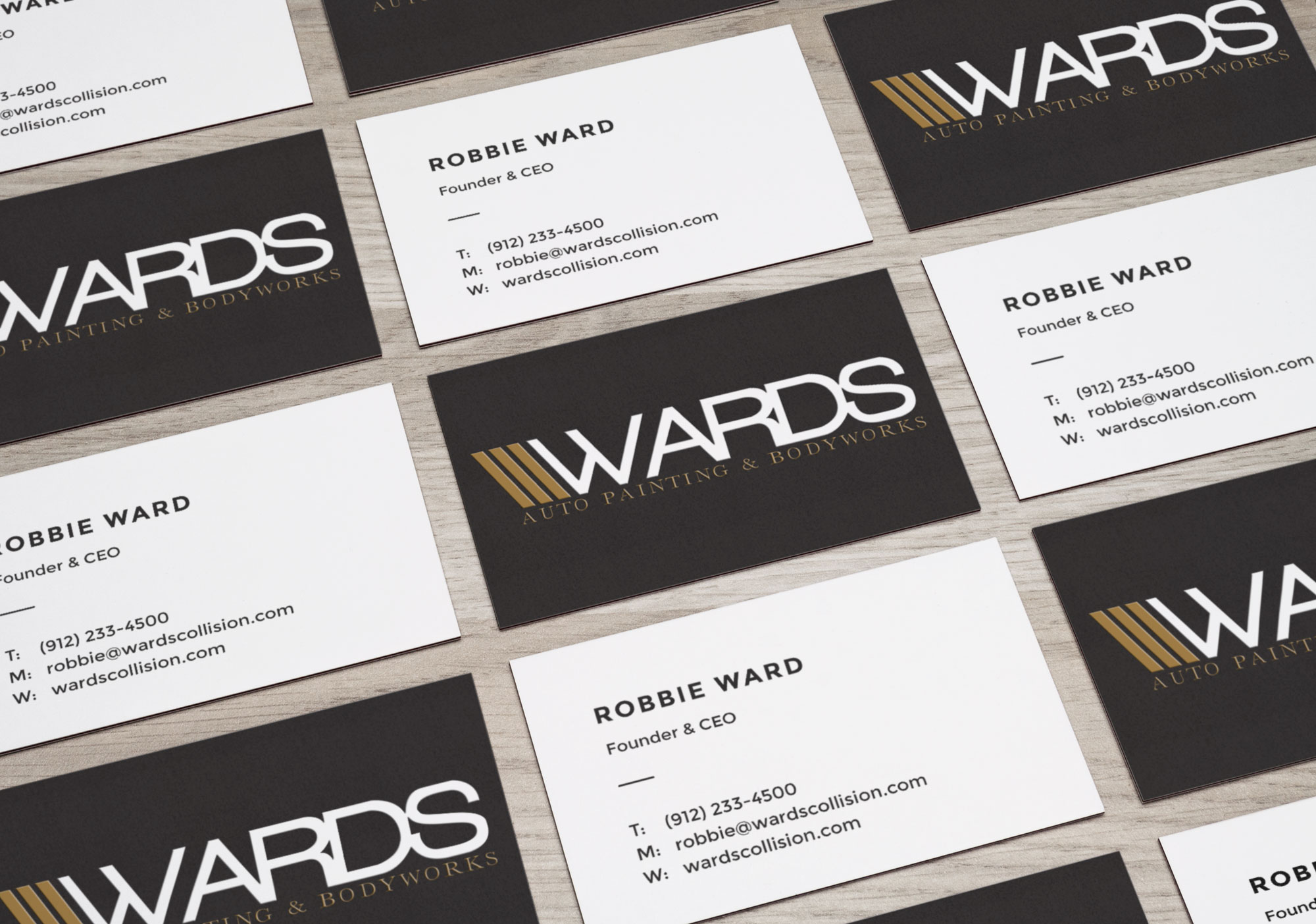 Famous Auto Body Business Cards Contemporary - Business Card Ideas ...