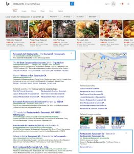 Bing search ads